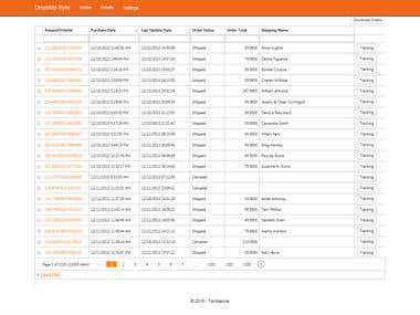 Online Database Management  using DevExpress MVC UI