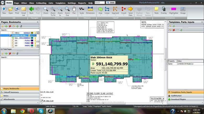 Quantity estimate and prepare the price BOQ in Building Proj