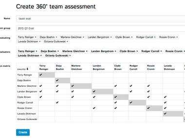 Saas for managing/assessing employees of store chains