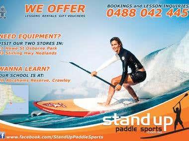 Sports flyer