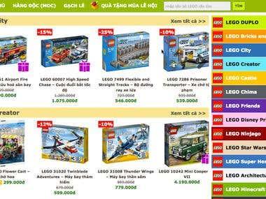 LEGO Online Store