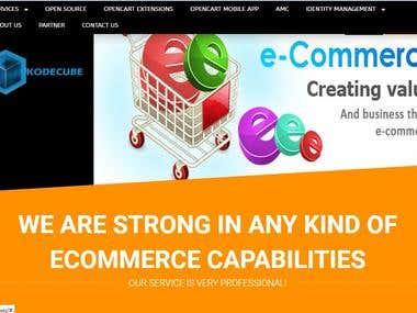 Kodecube E commerce Website