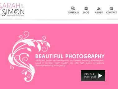 WordPress website from PSD