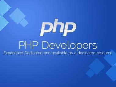 PHP, Yii, Zend Framework 2,  CodeIgniter, MySql Based Apps