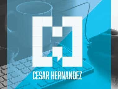 Logo Design For Cesar Hernandez