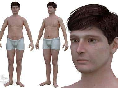 Photorealistic 3D Human Characters