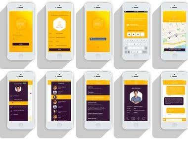 Hive Network IOS App