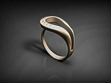 3D Jewelry Ring