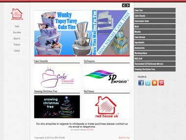Website Designing Work Red house UK