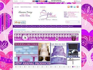 Cake tinsmith website