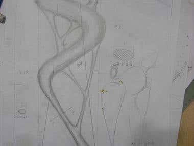 Sculpture sketch