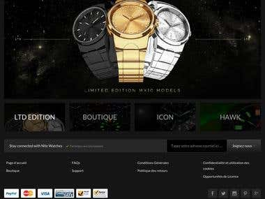 Product Ecommerce Website