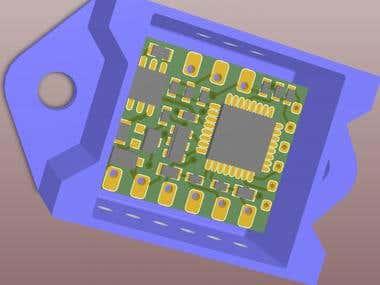 Automotive fuel sensor converter.