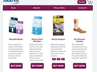 Shoparriva Website