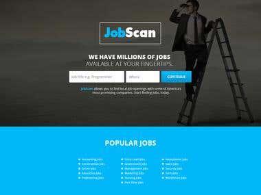 JobScan PSD Design