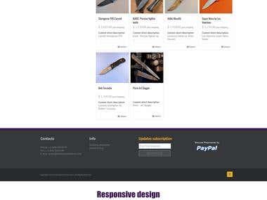 Wordpress + WooCommerce catalog