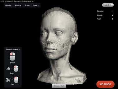 New Masters 3D server Render