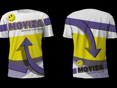 Design a T-Shirt for MOYIZA