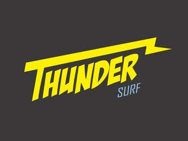Thunder Surf Logo