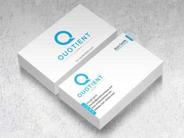 I will design business card and Logo