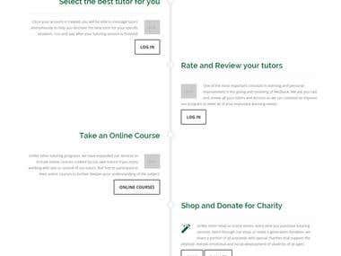 Tutors for charity
