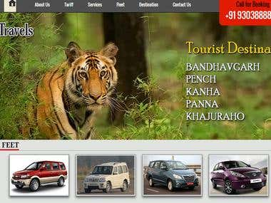 Travels Website