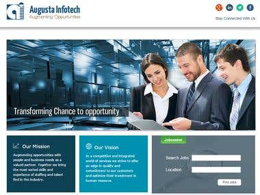 Augusta web portal