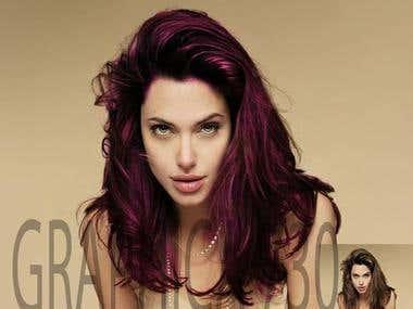 Hair Colour Cange