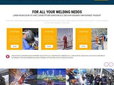 Design Website Balaji Engneering and Logo