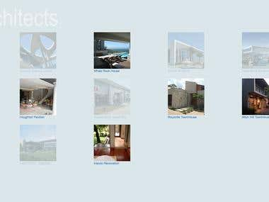 Hlarchitects - Architecture firm website