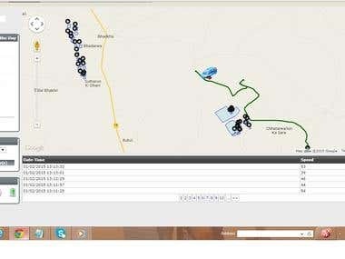 Gps Vehicle Tracking Application [ c#.net with google map ]