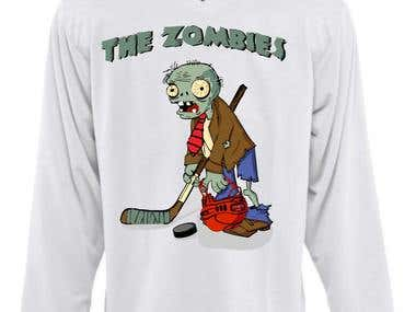 Zombi from game