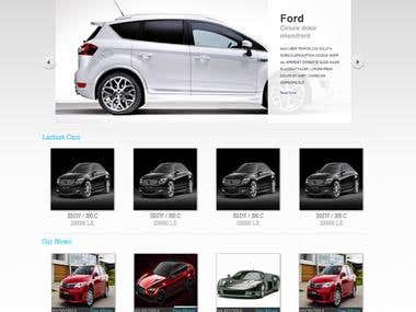 Car Gallary Website