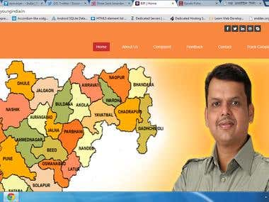 Website of  http://myyoungindia.in/