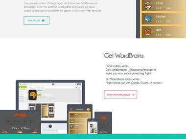 WordBrain Website