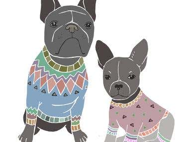 Doggies love sweaters