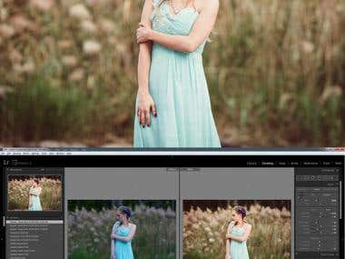 Post Processing with LR 5.7