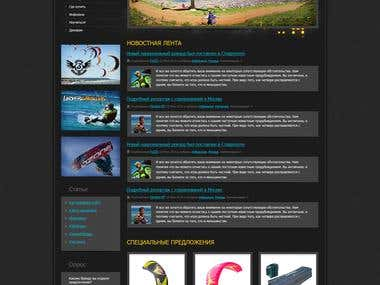 Timeless - turnkey website