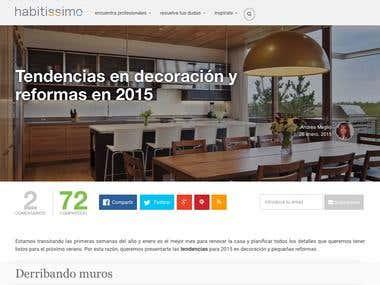Blogger en Habitissimo