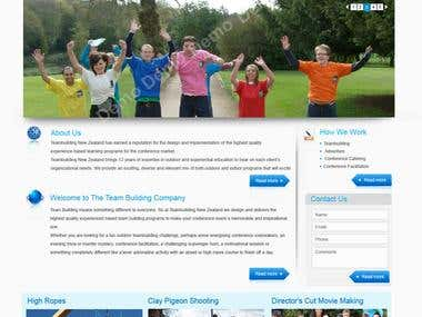 Team Building Website