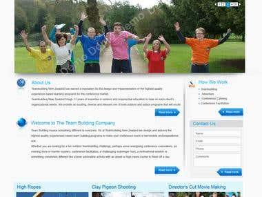 Team Building Website