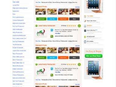 Search Engine Website