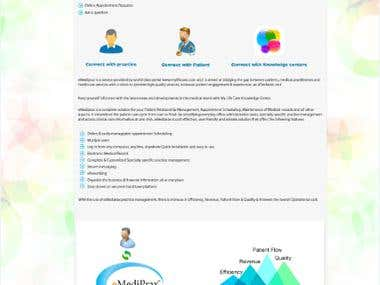 eMail Template for eMediPrax