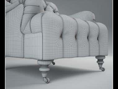3D Models of Ralph Lauren Aldwych Furniture