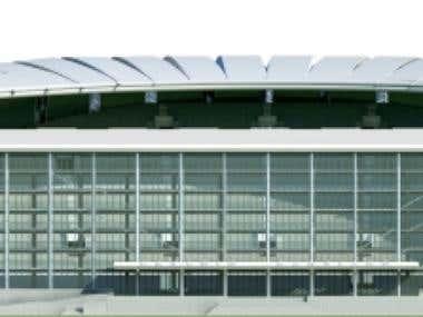 Soocer stadium