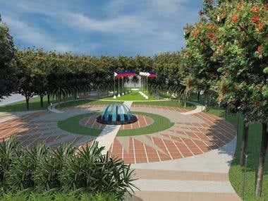 Landscape Architecture - Institutional Space