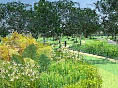 Landscape Architecture - Commercial Gardens