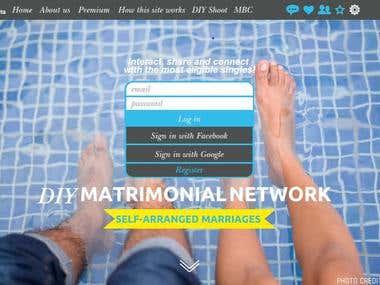 A DIY matrimonial portal