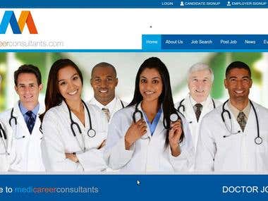 A portal exclusively for medical jobs