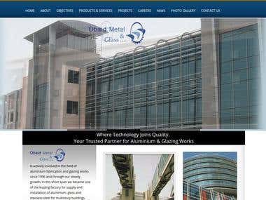 A UAE based company website